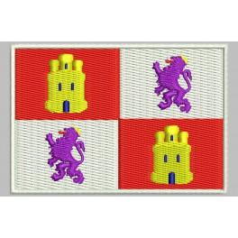 Parche Bordado Bandera CASTILLA Y LEON