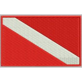 Parche Bordado Bandera BUCEO DOCKERY (U.S.)