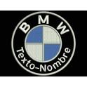 Parche Bordado BMW Personalizable (Circular)