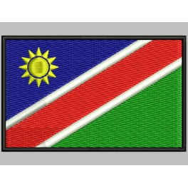 Parche Bordado Bandera NAMIBIA