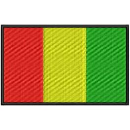 Parche Bordado Bandera GUINEA CONAKRY