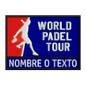 Parche Bordado WORLD PADEL TOUR (Personalizable)