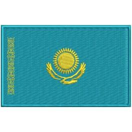 Parche Bordado Bandera KAZAJISTAN