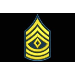 Parche Bordado RANGO SARGENTO PRIMERO (US ARMY)