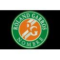 Parche Bordado ROLAND GARROS (Personalizable)