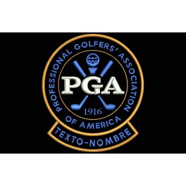 Parche Bordado PGA (Professional Golfers Association) (Personalizable)