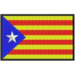 Parche Bordado Bandera CATALUNYA (ESTELADA)